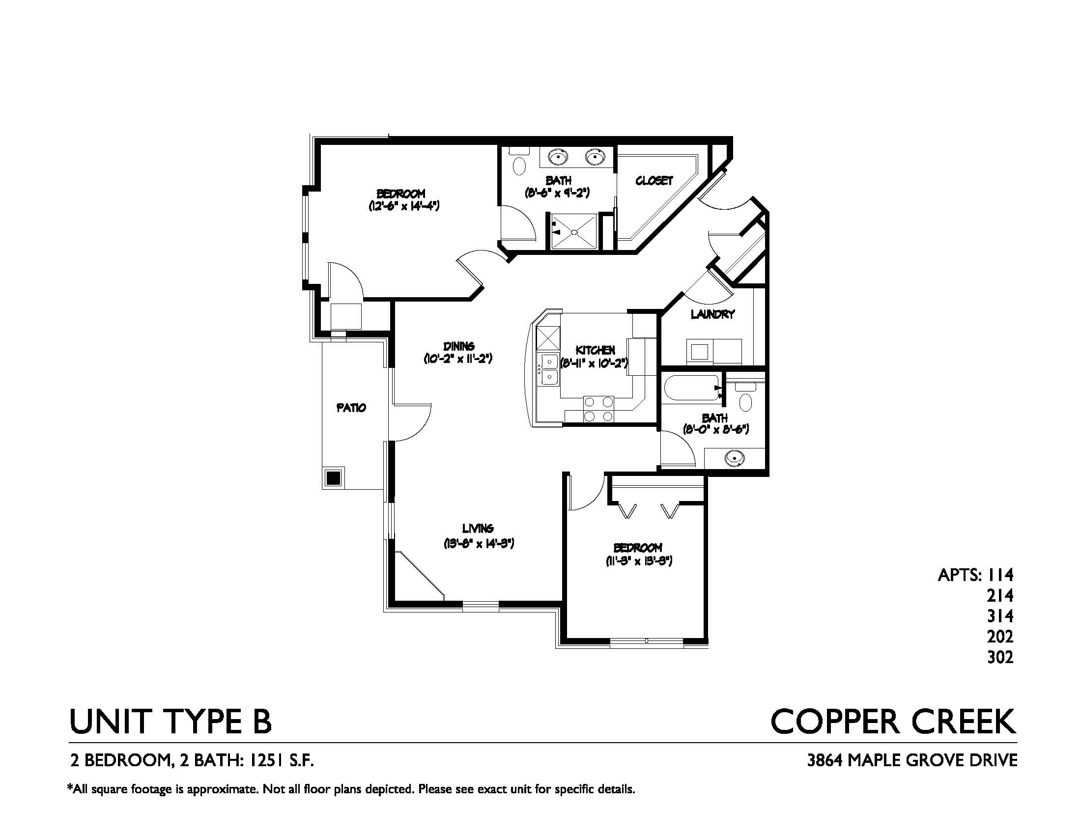 Copper creek forward management inc for Copper creek homes floor plans
